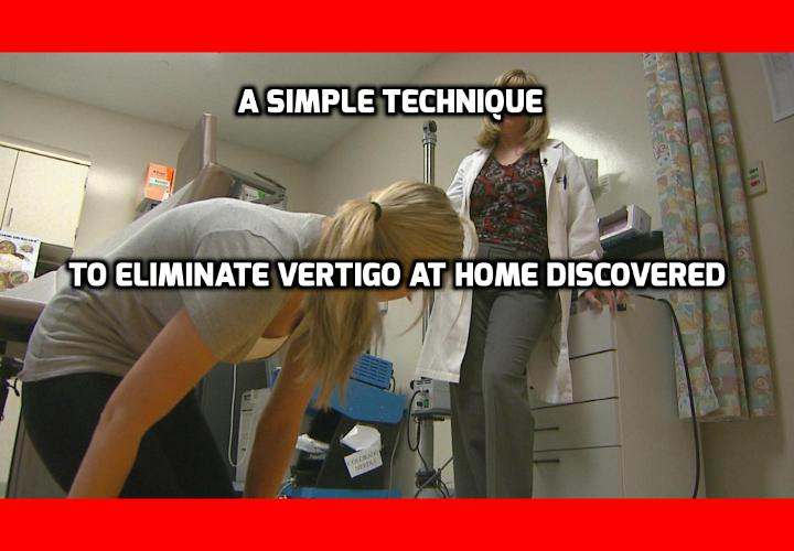"""What is the Best Way to Eliminate Vertigo at Home? If you suffer Benign paroxysmal positional vertigo (BPPV), you may have tried to eliminate vertigo using a technique called """"Epley maneuver"""" to move the crystal particles inside your inner ear. This is a very successful technique to eliminate vertigo, when performed by doctors or physical therapists but more difficult as do-it-yourself technique. When Dr Carol Foster – an expert in vertigo – experienced BPPV herself, she developed her own home technique to eliminate vertigo that ended up being easier and more successful than Epley maneuver."""