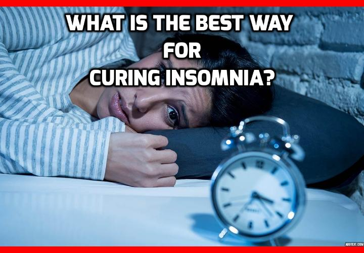 What is the Best Way for Curing Insomnia? Curing Insomnia - Sleepless Nights with Arthritis, Neck or Back Pain - I can really relate to readers who have trouble sleeping due to severe pain. I couldn't count all the sleepless nights I had when my neck was out (after literally being hit by a truck). Read on to learn about this Curing Insomnia and Stop Snoring Program that can help you get better sleep every night.