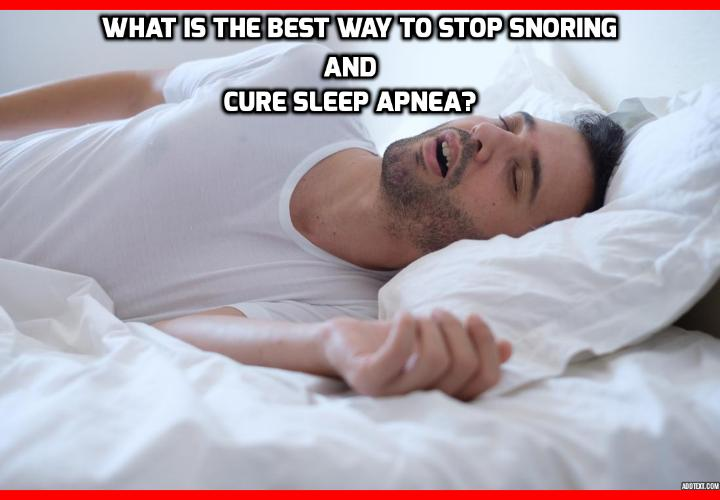 "What is the Best Way to Stop Snoring Cure Sleep Apnea? Stop Snoring Cure Sleep Apnea - Snoring Cured Using ""Childish"" Method - For people who suffer from snoring and sleep apnea, a solution has been found recently that invokes tools usually reserved for babies."