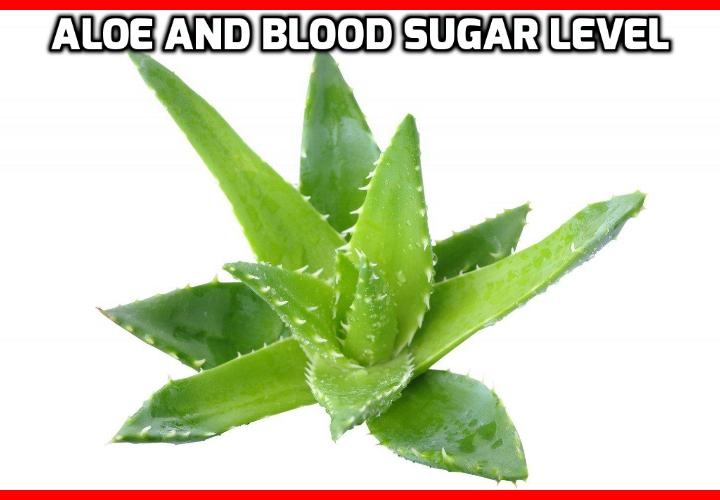 What is the Best Way to Control Blood Sugar Levels? Aloe has been used in studies of blood sugar and has yet again come out with good responses. Studies have been run and research has been done, aloe vera can help with blood sugar levels.