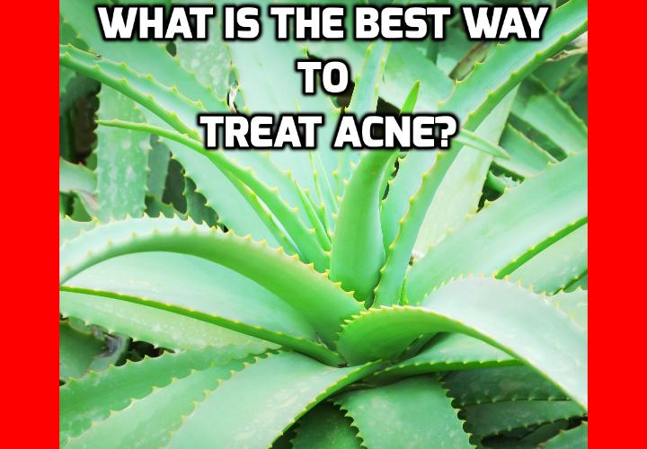 What is the Best Way to Treat Acne? Treat Acne - Acne home remedies using Aloe - Aloe, which has been hanging around mankind since the time of the Pharaohs (Cleopatra used it as a beauty aid) is not only a great soother of burns, cuts and other boo boos, it is also a great natural remedy for a plethora of skin problems including acne.