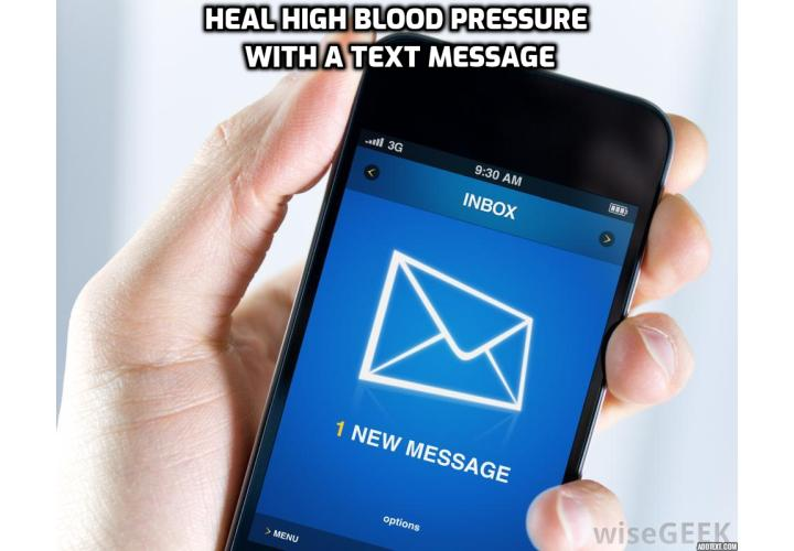 What is the Best Way to Lower Blood Pressure in Minutes? What if one simple text could lower blood pressure in minutes by 2.2 points? I know it's not much, but receiving a text is also not that complicated, right? This is exactly what researchers at the University of Cape Town and Oxford University did, before publishing their amazing results in the journal Circulation.