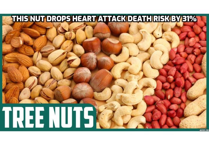 What is the best Way to Avoid Stroke and Heart Attack? Avoid Stroke and Heart Attack - This Nut Drops Heart Attack Death Risk by 31% (While the other does nothing). In a new study published by AHA Journals, one specific type of nut was found to drastically reduce the risk of dying from cardiovascular diseases – or, in fact, dying from any causes. Furthermore, it is widely available, inexpensive, and delicious.