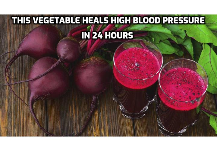 What is the Best Way to Get Your Blood Pressure Down? Get Your Blood Pressure Down - This Vegetable Heals High Blood Pressure In 24 Hours. Could one common vegetable possibly lower blood pressure significantly in just 24 hours? What new vegetable discovery is responsible and why have you not heard of it?