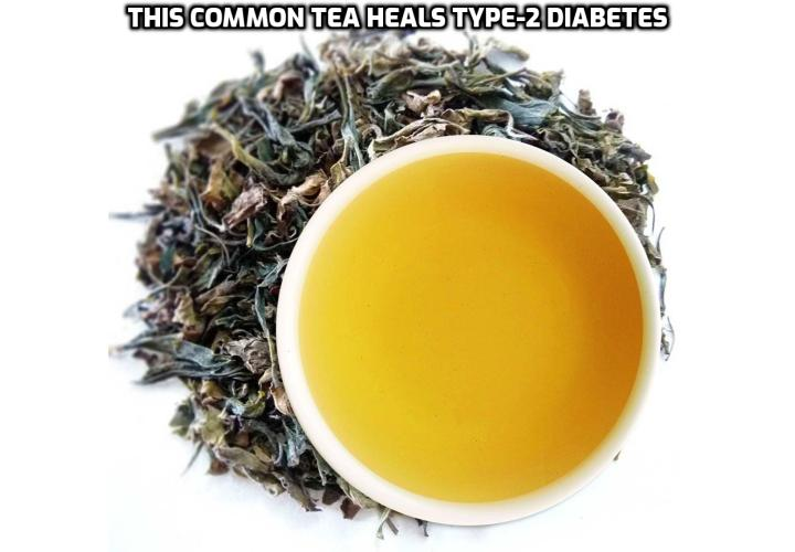 What is the Best Way to Reverse Type-2 Diabetes Symptoms? Reverse Type-2 Diabetes Symptoms - This Common Tea Heals Type-2 Diabetes. According to a recent study, published in the Naunyn-Schmedeberg's Archives of Pharmacology, a specific type of tea not only helps people to lose weight, but it can also drastically assist in improving type 2 diabetes. In fact, the effects of drinking this tea were similar to taking two types of medications that are recommended to non-insulin dependent type-2 diabetics in order to control their condition.