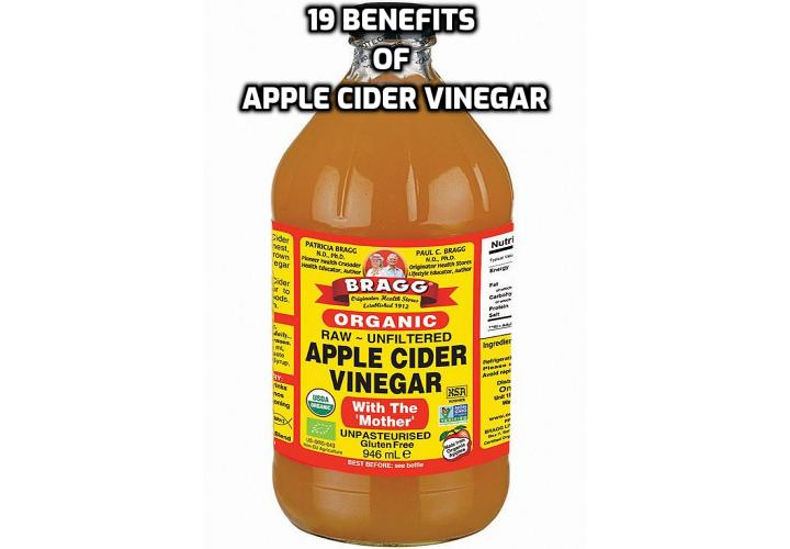 19 Awesome Benefits of Apple Cider Vinegar Noted Here - Here are the 19 awesome benefits of apple cider vinegar you should not miss.