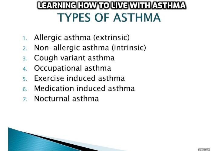 Which Are the Most Common Types of Asthma - Most people suffering of asthma have similar symptoms like coughing, wheezing, a feeling of pain or pressure in the chest and shortness of breath. Even though generally these symptoms are characteristic for almost all asthmatics, there are more types of asthma which can be encountered.