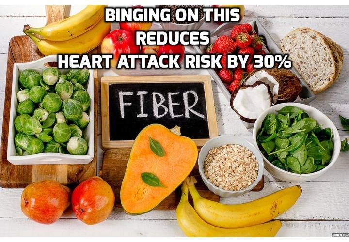 What is the Best Way to Avoid Heart Attack? What You Need to Avoid Heart Attack? Binging On This Reduces Heart Attack Risk by 30%. It is often the case that when seeking optimal health, we are told that we need to cut down on the food we love. But a new study from New Zealand that was published in Lancet found one ingredient that you can't have too much of when eating for optimal health.