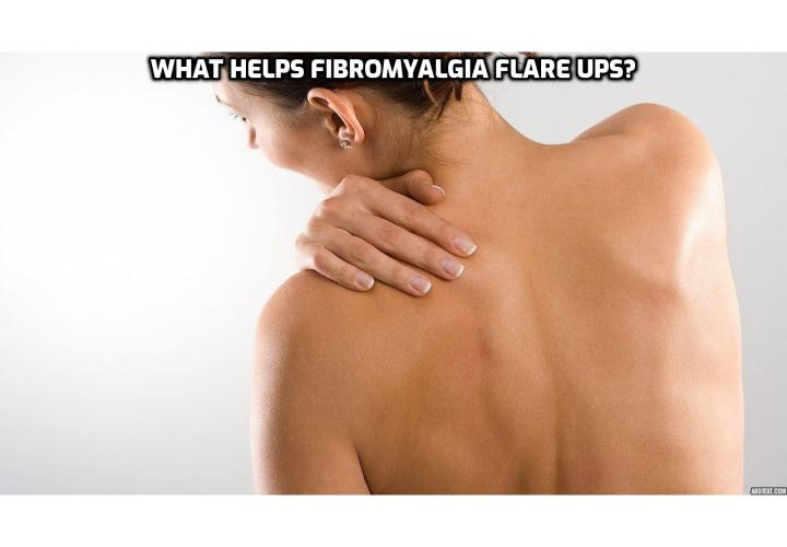 Relieving Fibromyalgia Symptoms – What Helps Fibromyalgia Flare Ups?  Relieving Fibromyalgia Symptoms – In fibromyalgia, patients suffer from acute and stabbing pain in muscle joints. The tendons, soft fibres, ligaments and cartilages are massively affected by fibromyalgia. Read on to learn about the holistic way to combat fibromyalgia.