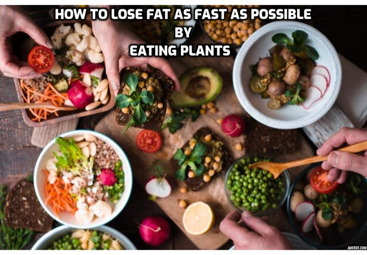 How to Lose Fat as Fast as Possible by Eating Plants - There is a right way to do it, and a fast one at that. In this article, we'll get down to the details of a how a reduced carb, high-protein diet can help you lose fat without the usual hunger pangs you experience with most low-carb regimens.