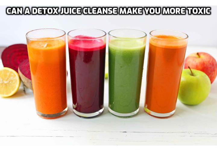 If you want to cleanse and increase energy, you don't necessarily have to do a hardcore juicing cleanse with no food. For instance, you can still have a positive experience with a less intense vegan detox diet cleanse that included food for 30 days and lost 10 lbs. of fat and later replaced it with 10lbs of muscle.
