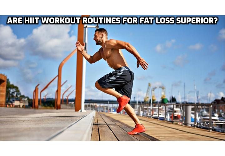 ARE HIIT WORKOUT ROUTINES FOR FAT LOSS SUPERIOR? HIIT is slightly more efficient at achieving fat loss. However, HIIT can also create a strength deficit (making you weaker), and carries a greater risk of injury and overtraining. Slow and steady seems to win the race in the long run.