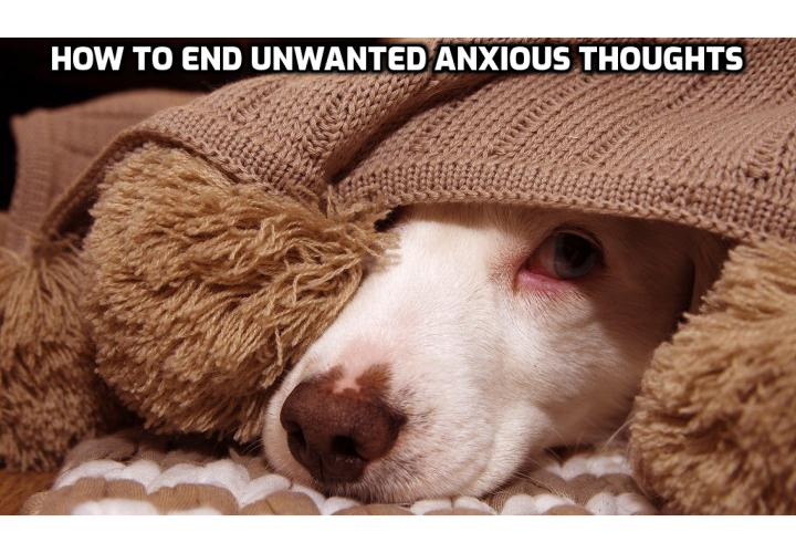 How to End Unwanted Anxious Thoughts in 4 Easy Steps? Observe it, label it (fear of whatever), then Watch it as it passes by with no judgment and then Move your attention on to what you were doing. By practicing this approach, you gradually stop reacting with fear to the thought and you learn to treat it as nothing more than an odd peculiarity.