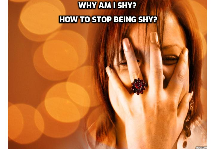 Why am I shy? The 3 surprising reasons. How to stop being shy? Read on to learn about Sean W Cooper's Shyness and Social Anxiety program to overcome shyness.