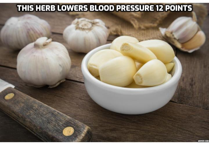 What is the Best Way to Completely Cure Your High Blood Pressure?  High blood pressure is a disease that affects 25% of the world's population. But despite its shockingly high statistics, high blood pressure can, according to researchers at the University of Adelaide, be controlled with a simple, cheap herb that grows almost everywhere in the world.