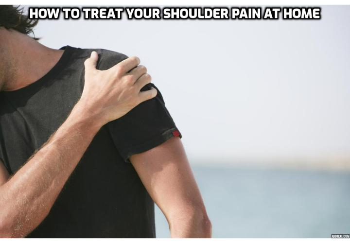 Shoulder pain is not permanent, can be treated and cured without surgery, and it is perfectly possible to get your shoulder back to how it used to be. Here is how to treat your shoulder pain at home in a few minutes. Read on to find out more.