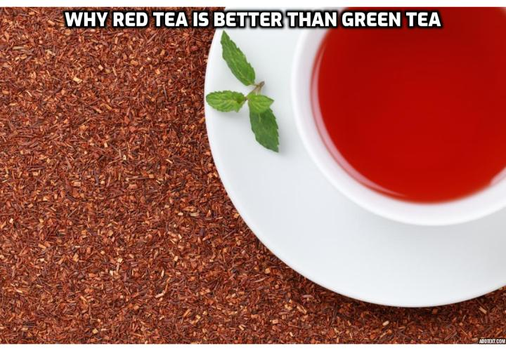 Dieters Tea - Rooibos, also known as red tea, is equally high in antioxidants, but is sourced from different substances to that of green tea. The antioxidants contained in rooibos – aspalathin and nothofagin – are comparatively rare, and help to regulate blood sugar, reduce excessive fat production, lessen stress, and inhibit metabolic disorders.