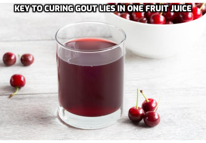 While you should not use artificial drug treatments to drop your uric acid levels too low (as this would compromise brain function) in order to cure gout, you should not allow them to skyrocket either. Here is a way you can do to eliminate gout which needs you to tackle the real underlying cause of gout.