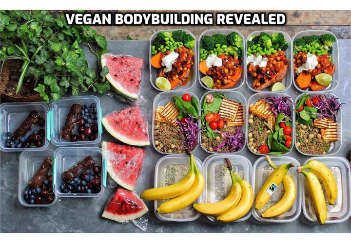 In this post, we present everything you need to know about vegan bodybuilding, including scientific research and common misconceptions. I also put together a sample vegan bodybuilding meal plan toward the bottom.