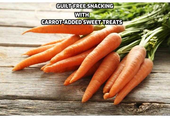 Why carrots are a great choice for preparing some healthy hearty snacks? They are rich in nutrients, providing a wide range of essential vitamins and minerals. They offer vitamins A (widely known for their antioxidant Beta Carotene content), B3, C, E and Carotene as well as potassium, calcium, iron and zinc.